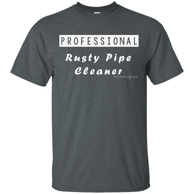 Professional Rusty Pipe Cleaner Dark T-shirts