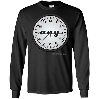 Any Time Long Sleeve Dark T-shirts
