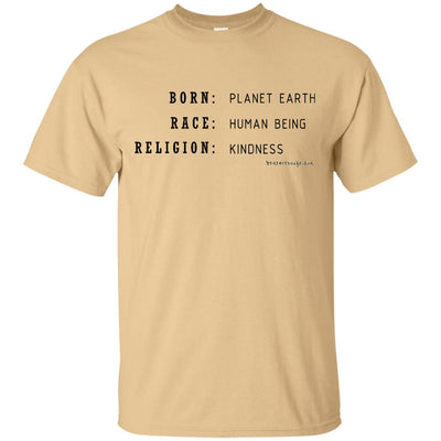 Born / Race / Religion Light T-shirts