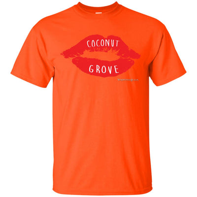 Coconut Grove Lips Dark T-shirts