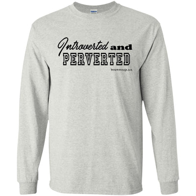 Introverted And Perverted Long Sleeve Light T-Shirts