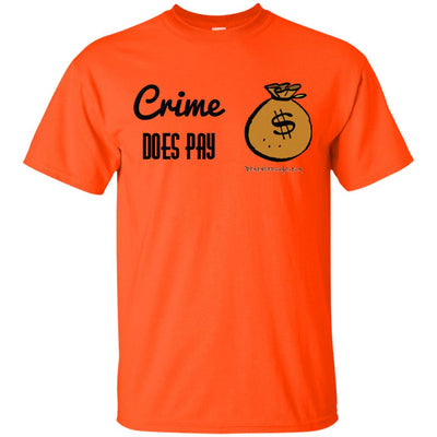 Crime Does Pay Light T-shirt