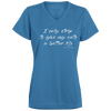 I Only Strip To Give My Cats a Better Life V-necks T-Shirt