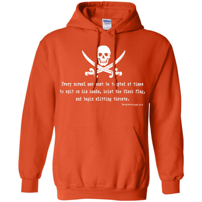 Hoist Black Flag Hoodies