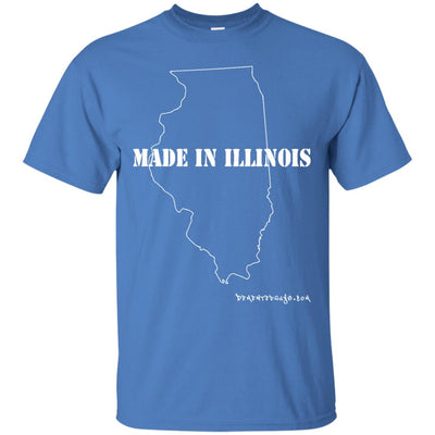 Made in Illinois Dark T-shirts
