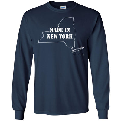 Made In New York Long Sleeve Dark T-shirts