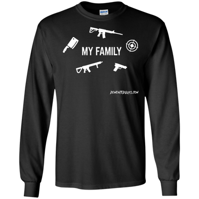 My Family Long Sleeve T-shirt