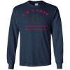 I'M A CHEF SPIDER LONG SLEEVE T-Shirt