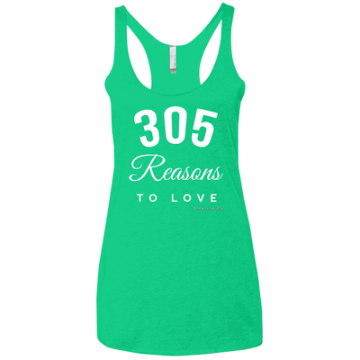 305 Reasons To Love Racerback Tank T-shirts
