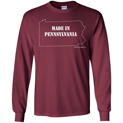 Made In Pennsylvania Long Sleeve Dark T-shirts
