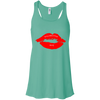 PALMETTO BAY RED LIPS Flowy Racerback Tank