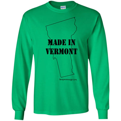 Made In Vermont Long Sleeve Light T-Shirts