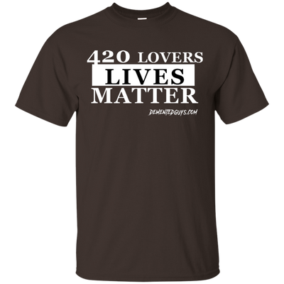420 LOVERS LIVES MATTER SHORT SLEEVE T-Shirt