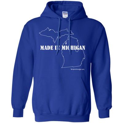 Made In Michigan Hoodies