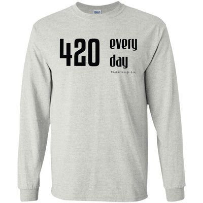 420 Everyday Long Sleeve Light T-shirts