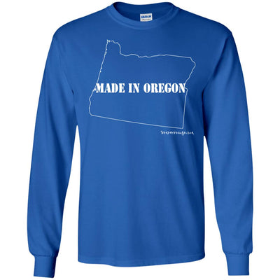 Made In Oregon Long Sleeve Dark T-shirts