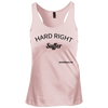 Hard Right Suffer Womens Racerback Tank Top Kate Spin Spinning