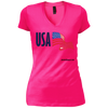 USA V-Neck T-Shirt