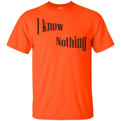 I Know Nothing Light T-shirt