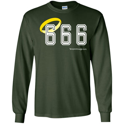 666 HALO Long Sleeve Dark T-shirts