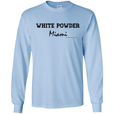 White Powder Miami Long Sleeve Light T-shirts