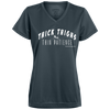 Thick Thighs and Thin Patience V-neck T-shirts