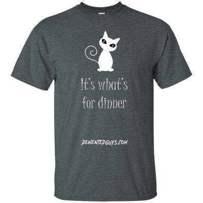 It's What's For Dinner Short Sleeve Tshirt