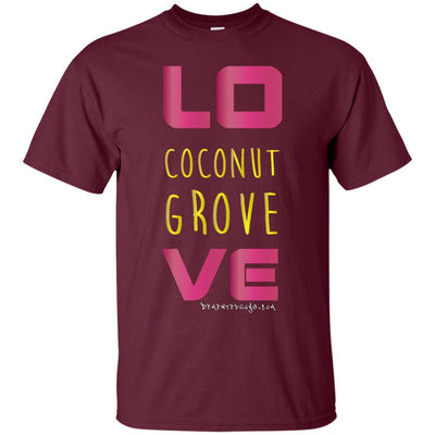 Coconut Grove Love Dark T-shirts