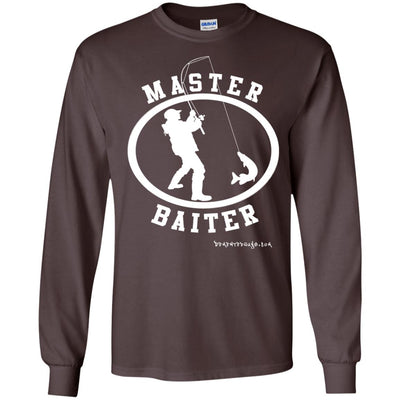 Master Baiter Long Sleeve Dark T-shirts