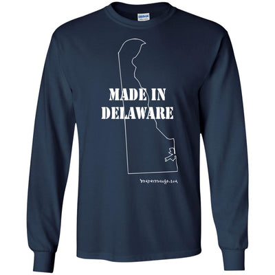 Made In Delaware Long Sleeve Dark T-shirts