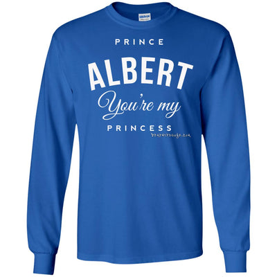 Prince Albert You're My Princess Long Sleeve Dark T-shirts