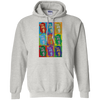 POP ART DAY OF THE DEAD WOMEN Pullover Hoodie 8 oz.