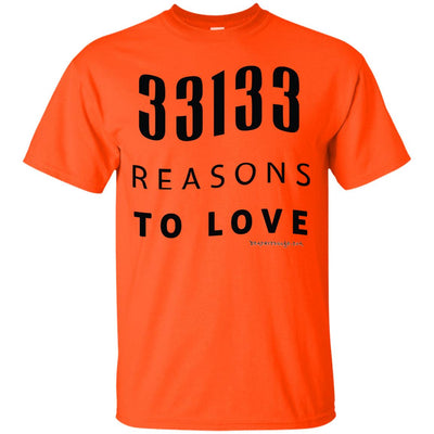 33133 Reasons To Love Light T-shirts