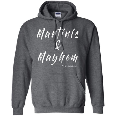 Martinis And Mayhem Hoodies