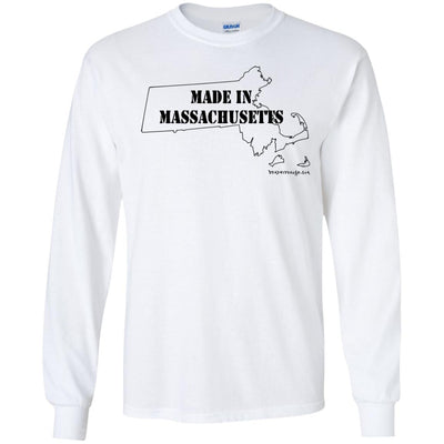 Made In Massachusetts Long Sleeve Light T-Shirts