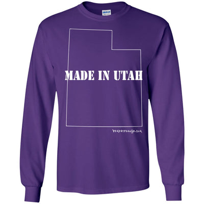 Made In Utah Long Sleeve Dark T-shirts