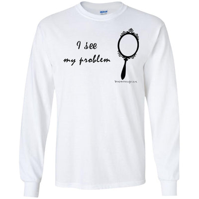 I See My Problem Long Sleeve Light T-shirts
