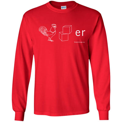 Cockblocker Long Sleeve Dark T-shirts