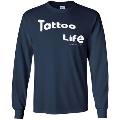 Tattoo Life Long Sleeve Dark T-shirts