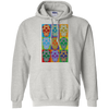 POP ART SUGAR SKULLS Pullover Hoodie 8 oz.
