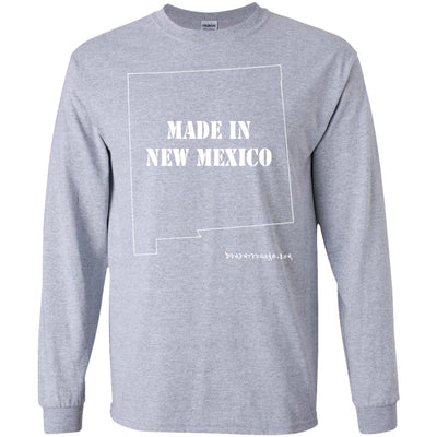 Made In New Mexico Long Sleeve Dark T-shirts