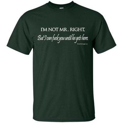 Not Mr Right Dark T-shirts