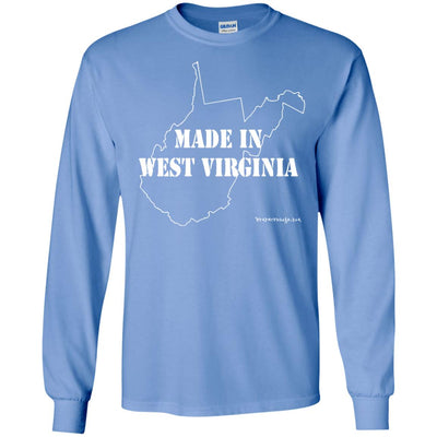 Made In West Virginia Long Sleeve Dark T-shirts