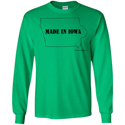 Made In Iowa Long Sleeve Light T-Shirts