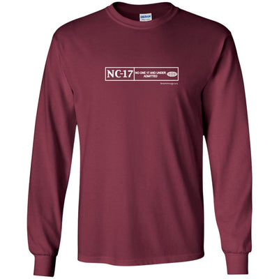 NC-17 Long Sleeve Dark T-shirts