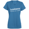 Lesbians Battery Last Longer V-neck T-Shirt