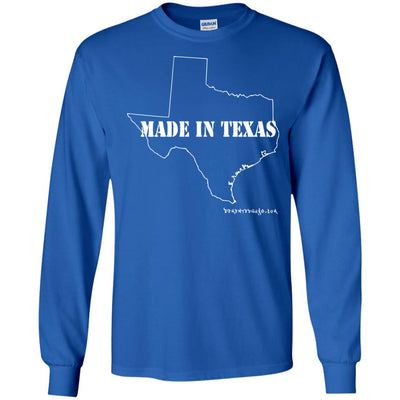 Made In Texas Long Sleeve Dark T-shirts