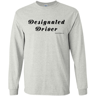 Designated Driver Long Sleeve Light T-Shirts