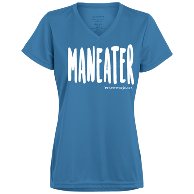 Maneater V-neck T-shirt