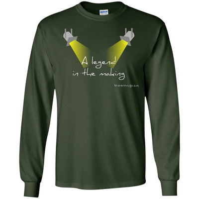 A Legend in the Making Long Sleeve Dark T-shirts